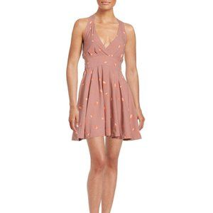 FREE PEOPLE Mini's For You Floral Dress in Pink-2